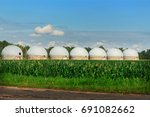 agricultural silos   building...