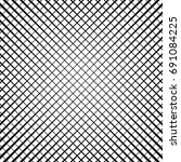 grid  lattice  grill regular... | Shutterstock .eps vector #691084225