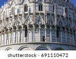 Pisa Baptistery Architecture...