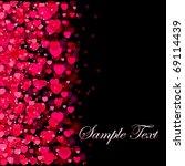 dark background with blurry... | Shutterstock .eps vector #69114439
