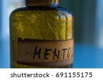 menthol crystals | Shutterstock . vector #691155175