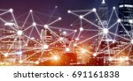 background conceptual image...   Shutterstock . vector #691161838