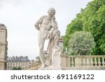 Statue Of Marius At Luxembourg...