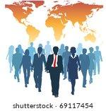global human resources business ...   Shutterstock .eps vector #69117454