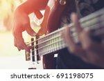 Bass Guitar Player Or Guitaris...