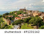 View Of Montalcino Town From...