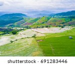 aerial top view photo from... | Shutterstock . vector #691283446