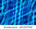abstract blue background with...   Shutterstock . vector #691297945