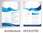 template vector design for... | Shutterstock .eps vector #691312702
