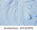 cosmetic texture. selective... | Shutterstock . vector #691325992