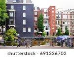 amsterdam  holland  europe  ...   Shutterstock . vector #691336702