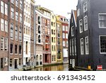 scenic view of colorful...   Shutterstock . vector #691343452