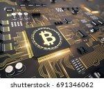 Bitcoin Concept   Printed...