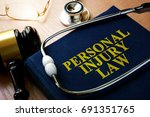 Personal Injury Law Concept....