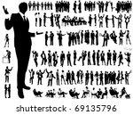 business people | Shutterstock .eps vector #69135796