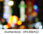 blur bokeh background | Shutterstock . vector #691386412