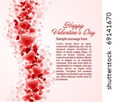 hearts valentine's day or... | Shutterstock .eps vector #69141670