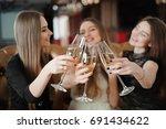 holidays  nightlife ... | Shutterstock . vector #691434622