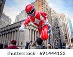 26 november 2015  new york city ... | Shutterstock . vector #691444132