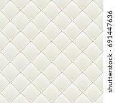 decorative upholstery soft... | Shutterstock .eps vector #691447636