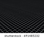 grey intersecting lines... | Shutterstock . vector #691485232