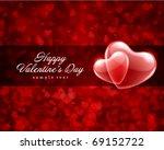 valentine's day or wedding...   Shutterstock .eps vector #69152722