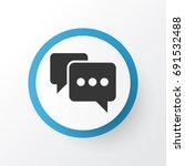comment icon symbol. premium...