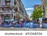 serbia  belgrade   july 26 ...   Shutterstock . vector #691568536