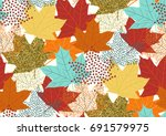 Seamless Pattern With Fall...