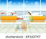 happy travel with good feeling | Shutterstock .eps vector #69163747