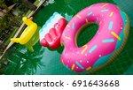 Floats In The Pool   Dounut  ...