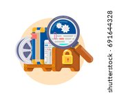 intellectual property rights.... | Shutterstock .eps vector #691644328