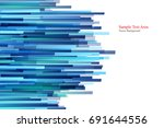 straight lines abstract vector... | Shutterstock .eps vector #691644556