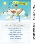 children design with pupils....   Shutterstock .eps vector #691649752