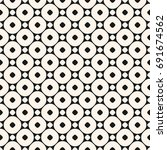 vector seamless pattern with... | Shutterstock .eps vector #691674562