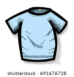 cartoon image of shirt icon. an ...