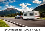 family vacation travel  holiday ... | Shutterstock . vector #691677376