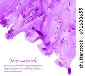 Violet  Purple  Lilac Grunge...