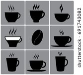 types of cups  dishes  glasses. ...