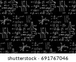vintage scientific and... | Shutterstock .eps vector #691767046
