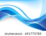 vector abstract beautiful blue...