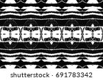 black and white rectangle... | Shutterstock . vector #691783342