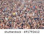 kostrzyn  poland   august 03 ... | Shutterstock . vector #691792612