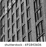 brick. design details of modern ...   Shutterstock . vector #691843606