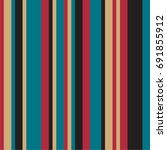 vertical stripes with different ... | Shutterstock .eps vector #691855912