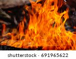 fire | Shutterstock . vector #691965622