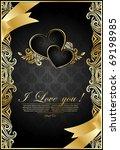 antique black background   Shutterstock .eps vector #69198985