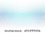 light blue vector modern... | Shutterstock .eps vector #691999456