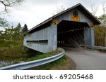 Covered Bridge In Ashtabula...
