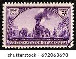 Usa   Circa 1944  A Stamp...